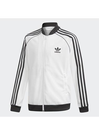 adidas Unisex Çocuk Superstar Ceket 245525 Beyaz
